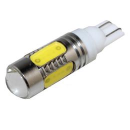 $enCountryForm.capitalKeyWord Australia - 2X Auto T10 7.5W led light xenon wedge bulb 194 168 192 W5W lamp Interior Packing 5 COB Backup Reverse White Amber
