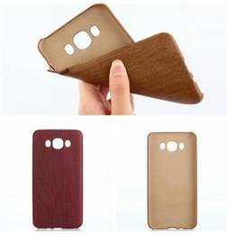 phone cases j1 2019 - For Samsung Galaxy J710 J510 J5 J3 J1 2016 J7 Wooden Wood Pattern Grain PU Leather Soft TPU Case Cell Phone Shell Skin B