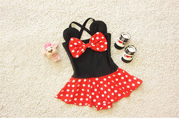 Popular Kids Clothes Canada - Kids Girl Swimwear Soft And Beautiful Baby Swimsuit Korean Style Cute Swim Clothes 2016 Popular Girl Swimming In Stock