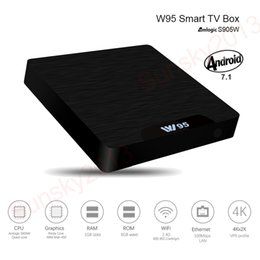 Mini pc 8gb raM online shopping - Amlogic S905W Android TV Box Quad Core bit GB RAM GB ROM Smart Mini PC G Wifi D K Streaming Media Player Set Top Box