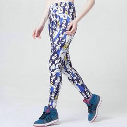 8ed603520502f Gym Shark Pants Canada - Shark spectral pants Fashion scrawl tight Women  gym clothing Leggings sport