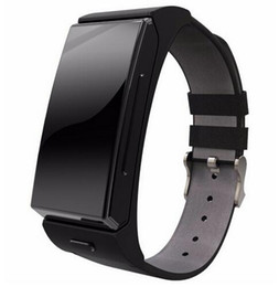 China 100% Original Uwatch U20 Umini Smart Watch Earphone Headset MTK2502 Heart Rate Monitor Bluetooth Fitness Tracker Smart Band suppliers