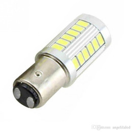Chinese  High Quality 1157 BAY15D P21 5W 33 SMD 5730 Car Led Turn Signal Lights Brake Tail Lamps Auto Rear Reverse Bulbs manufacturers