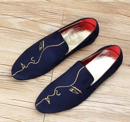 Mens Red Wedding Shoes Canada - 2016 facebook Oxford Shoes for men ,mens loafers shoes men Dress Shoes mens Velvet loafers red Wedding Shoes moccasins boat shoes D22