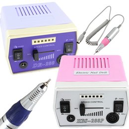 Kit De Uñas Acrílico Eléctrico Baratos-Hot Sell Profesional Nail Art File Kit de máquina de taladro eléctrico para acrílico, envoltura de seda de vidrio uñas artificiales y dedo natural dedo / dedo del pie