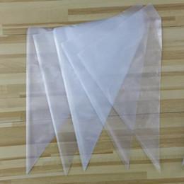 $enCountryForm.capitalKeyWord Canada - 100pcs set Big Size 34*23cm Cream Disposable Pastry Bag Cake Icing Piping Bags DIY Decorating Tools,100packs lot
