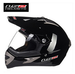 Ran Helmet Canada - LS2 professional off-road racing motorcycle helmet MX433 Cross country sport utility vehicle motorbike ran helmet made of ABS lens