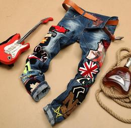 $enCountryForm.capitalKeyWord Canada - Hip-Hop Mens Jeans Pants Baggy Denim Streetwear Trousers HipHop Rock Hot Sell Fashionable Garment OEM factory Jeans For Men