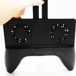 Iphone game controllers online shopping - 2017 New Hot Portable Game Controller with Cooling Power Bank Mobile Bracket for New Iphone Gamepad Systems