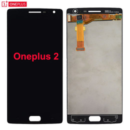 Screen Panel Replacement Parts Canada - Tested for Oneplus two LCD Display Touch Screen Glass Panel Assembly Original Replacement for oneplus 2 lcd Parts