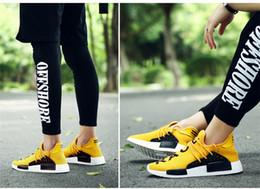 Mens Adidas NMD Human Race green / black Shoes wish me.uk