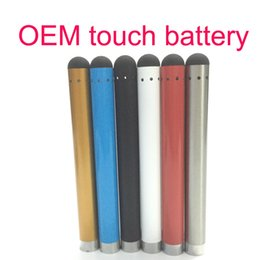 slim battery cigarette NZ - CE3 O-pen Vape Slim battery bud 280mAh 510 e Cigarettes with touch pen for ce3 vaporizer thick oil cartridge