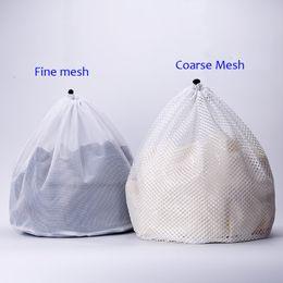 $enCountryForm.capitalKeyWord Canada - Rope draw Wash Bag Laundry Bag Net Mesh Coarse Mesh Machine Wash Clothes Protect Bag