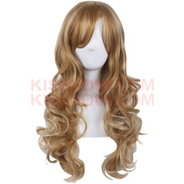 body wave for hair UK - Cheap Cospaly Wig Harajuku Lolita Maidservant Wig Long Body Wave Synthetic Hair Blonde Brown Wigs for Women Synthetic Wig