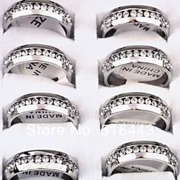Micro gepflasterter Kristall Damenmode-Ring für Verlobungshochzeits-Partyschmuck