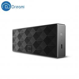 xiaomi mini square box bluetooth speaker 2019 - Wholesale- Dreami Original Xiaomi Mi Square Box Bluetooth Speaker For Phone PC Tablet Wireless Bluetooth Speaker Xiaomi