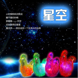 massage flashing 2019 - free shipping Flash Jiaojiao chicken with a whistle sound emitting barbed massage vent ball luminous toy wholesale disco