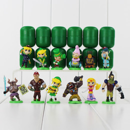 $enCountryForm.capitalKeyWord Canada - 12pcs lot The Legend of Zelda Furuta Choco Egg PVC figures Collection Toys Model Dolls Kids Gifts 3.5-5.6cm