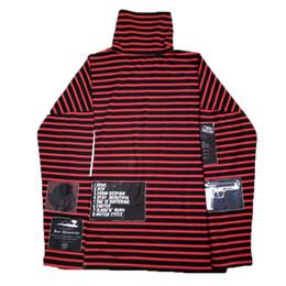 Kpop gd online shopping - Bigbang Kpop Womens Men Sweatshirts Airbnb GD Top Harajuku Hoodies Pullover Turtleneck Red Striped Patchwork Cotton Tracksuit