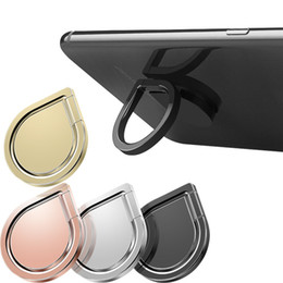 SamSung handSetS online shopping - Top Quality Water Drop Finger Ring Holder Universal Mobile Phone Ring Magnetic Stander With Retail Package For iPhone Samsung All Handset