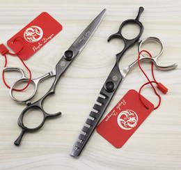 $enCountryForm.capitalKeyWord Australia - 591# 5.5'' Brand Purple Dragon TOP GRADE Hairdressing Scissors 440C 62HRC Barbers Cutting Scissors Thinning Shears Hair Scissors