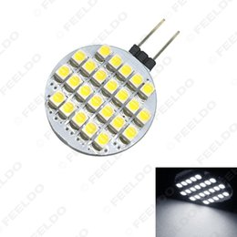 marine boat lights Australia - wholesale Car G4 3528 24SMD Home Reading Light & Marine Boat Cabinet High Bright Intensity LED Light #2236
