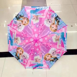 Ins New Hot Moana Froze Parapluie Kids Boys Girls Love Rain Gear Sun Proof Umbrella Chrildren Cadeaux de Noël