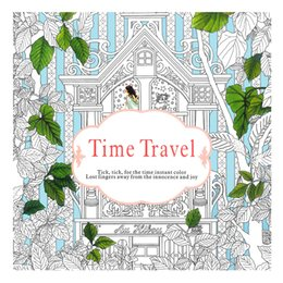 Secret Garden Coloring Books Lost Ocean Time Travel Wonderland Exploration Mandolas 24 Pages Painting Relieve Stress Colouring