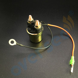 Solenoid Engine Canada - OVERSEE Starter Solenoid Relay For Suzuki Outboard Engine 31800-94401 MOTOR PARTS