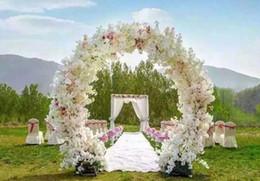 $enCountryForm.capitalKeyWord Canada - 1 Meter Long Artificial Simulation Cherry Blossom Flower Bouquet Wedding Arch door Decoration Garland Home Decor Supplies