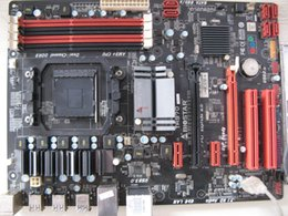 Motherboard Am3 Ddr3 Canada - Original motherboard for Biostar TA970 motherboard supports AM3 + Bulldozer CPU DDR3