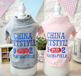 $enCountryForm.capitalKeyWord Canada - FAFA Pet Costumes Dog Clothes Wear Dog Apparel Autumn Winter Coat T-shirt Puppy Hoodies Jacket New Arrival 16ZF116