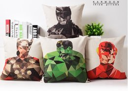 $enCountryForm.capitalKeyWord Canada - American Hero of Marvel Comics Bedding Massager Decorative Pillows Case Cover Vintage Massage Decorative Pillows Case Cover Gift