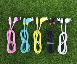 Discount universal mobile connectors - Angle 120 Degrees candy Micro USB Data Charge Sync Cable Connector Cable Good For Charging Data usb for samsung LG huawe