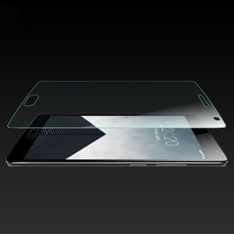 Discount oneplus one tempered screen - Wholesale-0.26mm Full Screen Protection Tempered Glass Film Oneplus three 3 Oneplus One Plus oneplus X Screen Protector