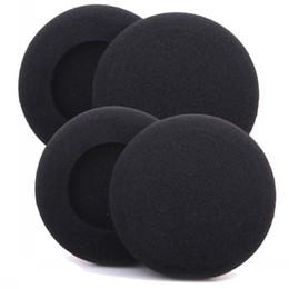 foam headphone covers 2019 - 50mm 100x pairs of Foam pad cushion eartip cover for wireless Headphone