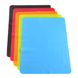 Venta al por mayor de 40x30 cm Estera de Silicona para Hornear Mejor Cojín de Aislamiento de Calor Del Horno de Silicona Bakeware Kid Mesa Mat