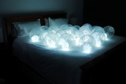 $enCountryForm.capitalKeyWord Australia - Wedding Centerpiece Balloons Decoration 12Colors Magic Floating Mini LED Ball Firefly Effect LED Fairy Pearls Light CR1220 Batteries Powered