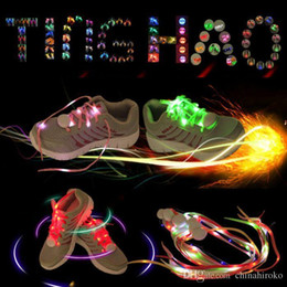 $enCountryForm.capitalKeyWord Australia - 7 Colors LED Shoe Flashing shoelace light up Disco Party Fun Glow Laces Shoes Halloween Christmas gift Free DHL FedEx