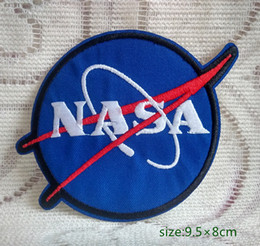 $enCountryForm.capitalKeyWord Canada - USA NASA Logo Space Program Vector Cap Jersey Jacket Iron on Embroidered patch Gift shirt bag trousers coat Vest Individuality
