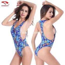 Europäische Frauen Sexy Reveal Zurück Badeanzug Badeanzug XL Bademode Triangle Bikini Badeanzug Bade Plus Größe im Angebot