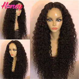 $enCountryForm.capitalKeyWord Canada - Glueless Full Lace Human Hair Wigs Brazilian Virgin Hair Kinky Curly Lace Front Wig 10-24inch Deep Curly Hair Wigs For Women