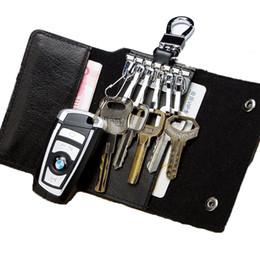 2aaf21eb0 2017 superventas de los hombres 100% cuero de vaca genuino monedero llave  del coche carteras moda mujeres amas de casa carteira chave