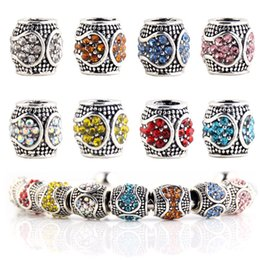 Discount sterling silver flat bangles - 2016 925 Sterling Silver European Charms Bead Fit Pandora Snake Chain Bracelets Bangles Pendant DIY Jewelry Loose Beads
