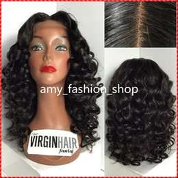 $enCountryForm.capitalKeyWord Canada - 150% density full lace wigs human hair for black women body wave virgin brazilian lace front wigs with baby hair and bleached knots