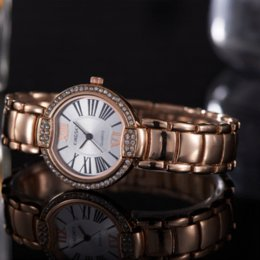 $enCountryForm.capitalKeyWord Canada - Hot Sale Luxury Women's Wristwatches Vogue Brand Wedding Romantic Korean And European Style Couple Quartz Movement 060-4 Watches