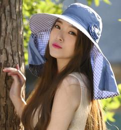 $enCountryForm.capitalKeyWord NZ - High quality summer sun block UV free picking tea hat wide brim sun hat Cycling cap summer beach hat