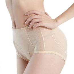 Butin De Renforcement De La Hanche Pas Cher-Vente en gros - Femmes les plus vendues Shapewear rembourré Booty respirant Butt Enhancer Knickers Hip Up Underwear Ladies Control Panties