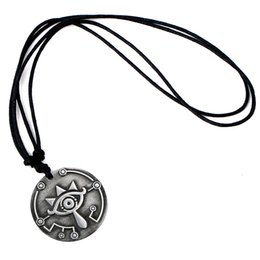 Spirit Pendants Australia - Legend of the zelda Spirit from the Wild Necklace necklace to the scalable rope chain vintage Necklace Pendant big eyes logo charms gift