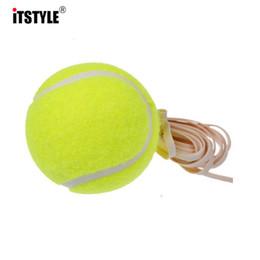 Оптовая продажа-ITSTYLE 60 мм прочный высокой эластичностью конкуренции обучение теннисный мяч с 4 м веревки